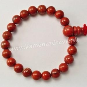 Energetický náramok - Jaspis červený