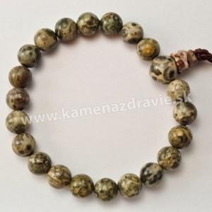 Energetický náramok - Jaspis leopardí