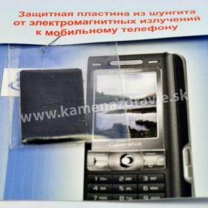 Šungit  na mobil