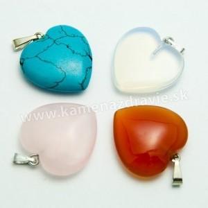 Prívesok srdce 20mm