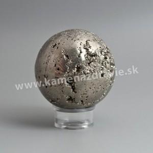 Guľa pyrit