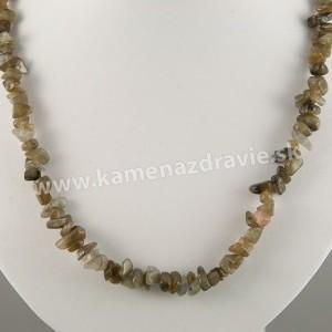 Labradorit - sekaný náhrdelník