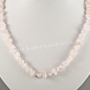 Ruženín - sekaný náhrdelník