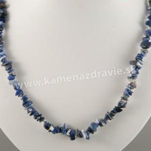 Sodalit - sekaný náhrdelník