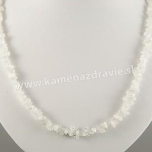 Mesačný kameň - sekaný náhrdelník