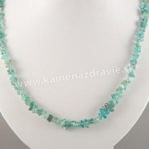 Apatit - sekaný náhrdelník