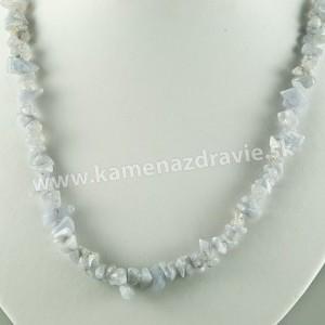 Chalcedón - sekaný náhrdelník