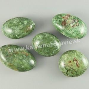 Chalcedón zelený