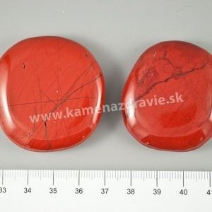 Jaspis červený - placka