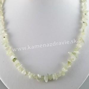 Jadeit - sekaný náhrdelník