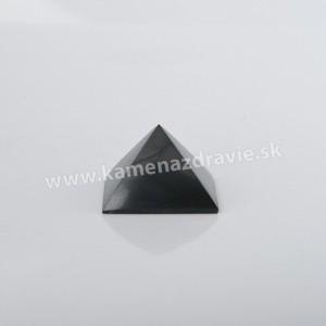 Šungit pyramída 4cm