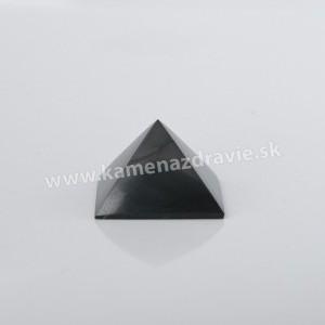 Šungit pyramída 5cm