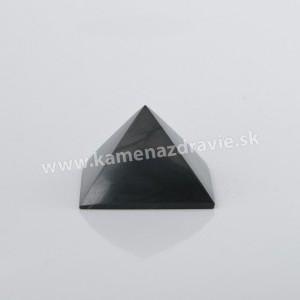 Šungit pyramída 6cm