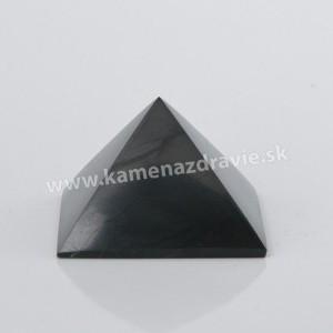 Šungit pyramída 7cm