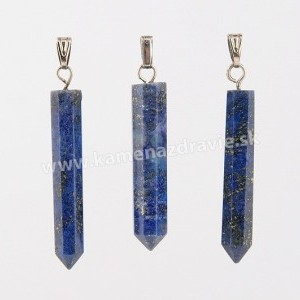 Lapis lazuli prívesok (ceruzka)