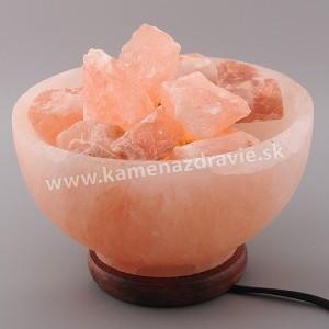 Miska s himalájskou soľou