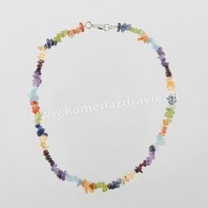 Čakra - sekaný náhrdelník