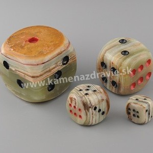 Kocka šťastia 1 - 1,9 x 1,9 cm