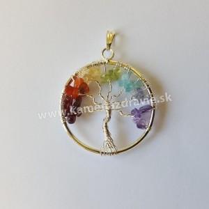 Prívesok čakra -strom života