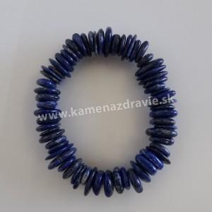Náramok - disky - lapis lazuli