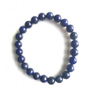 Guličkový náramok - lapis lazuli