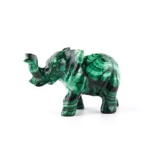 Malachit slon