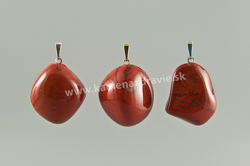 Jaspis červený - prívesok - L