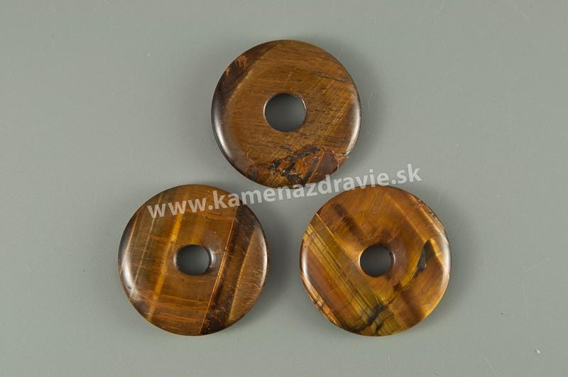Donut krúžok - tigrie oko