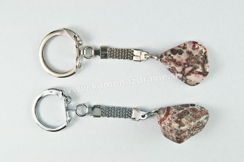 Kľúčenka - jaspis leopard9