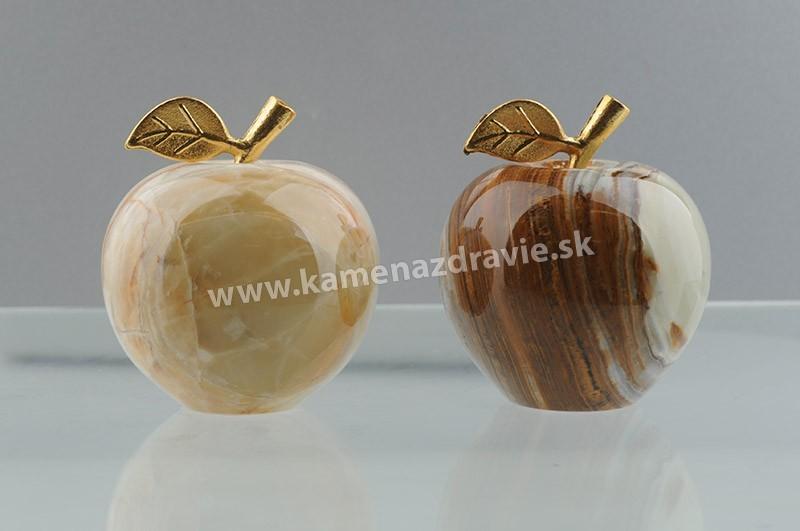 Jablko s listom-malé (5 cm)