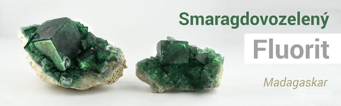 Smaragdovozelený fluorit